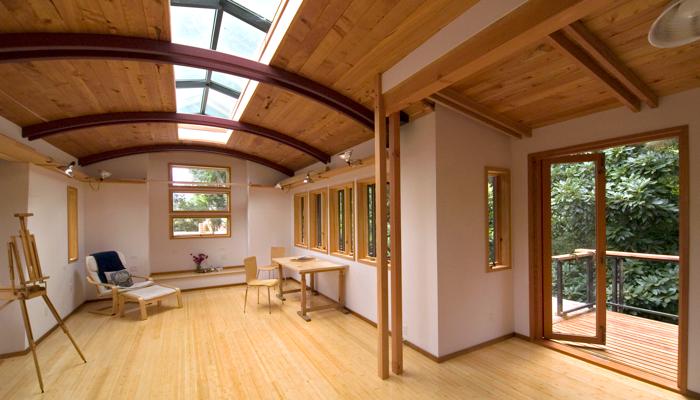 Home for Moss building design